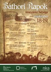 2010. szeptember 9. 17:56 - IV. Báthori Napok - Reneszánsz hétvége