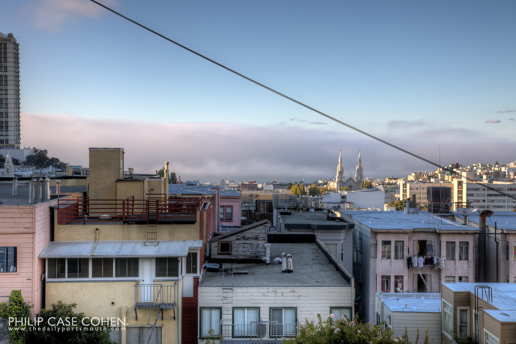 Russian Hill & North Beach by Philip Case Cohen