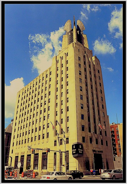 Times Square Building ~ Rochester,  NY