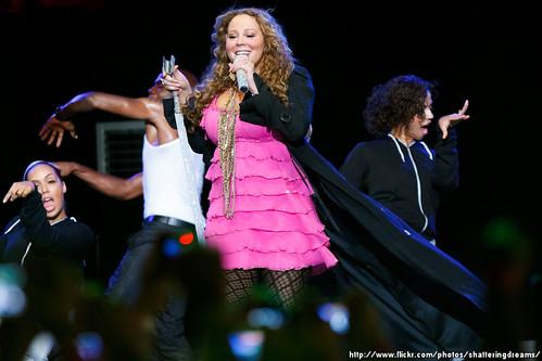 Mariah Carey @ SingaporeGP 2010