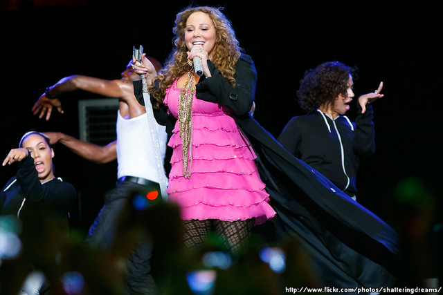 Mariah Carey @ SingaporeGP 2010