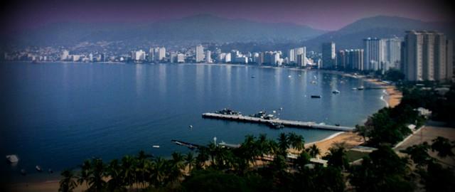 Navy yard in Acapulco