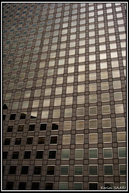 ★ Paris la défense, Skyscraper ~ Karim SAARI ©