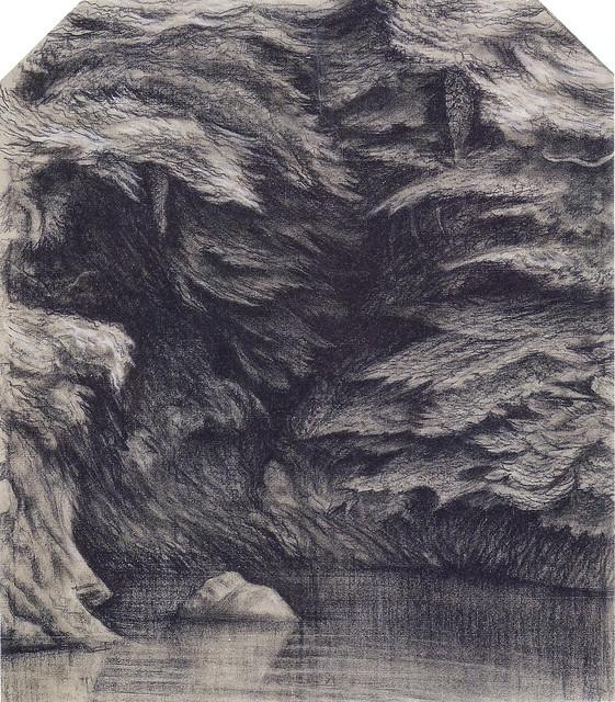 稲垣仲静「深淵」(1921)