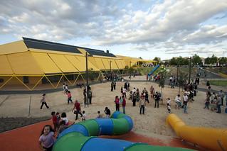 plaza ecopolis-taludes y toboganes   by ecosistema urbano