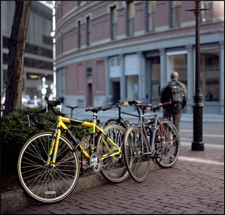 The Yellow Bicycle | by Chancy Rendezvous
