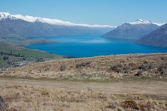 Lake Wakatipu and mountains 1