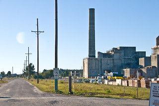 Demolition of P Reactor Stack at SRS | by Savannah River Site