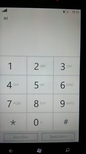 Windows Phone 7 Nummereingabe   by Luca Hammer