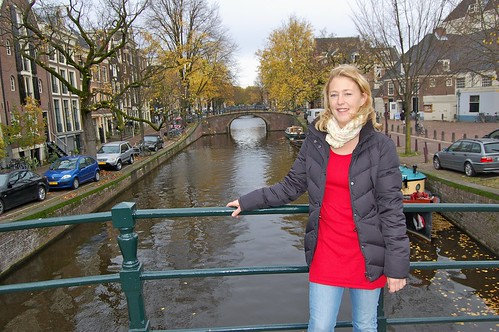 Malin vid en kanal i Amsterdam | by windyjonas