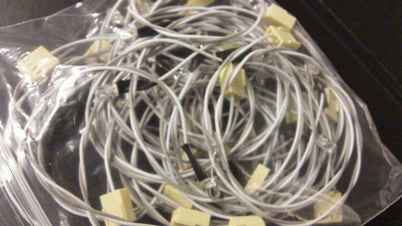 60 white LEDs