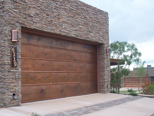 Garage Doors Flushline Copper | by carywaynepeterson