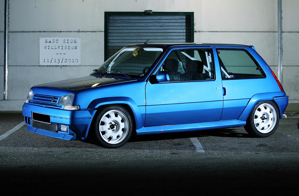 Renault Super 5 GT Turbo | Strobist info: - one flash used: … | Flickr