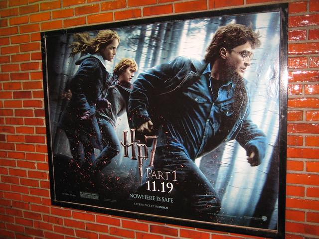 Harry Potter Seven Billboard Poster 8403
