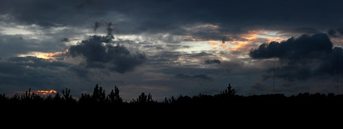 sunset sky clouds canon dark rebel birmingham alabama coldfront xsi 450d night2061 dylanbrazil