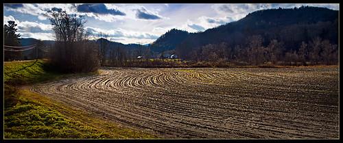 november autumn landscape vermont fields bethelvt