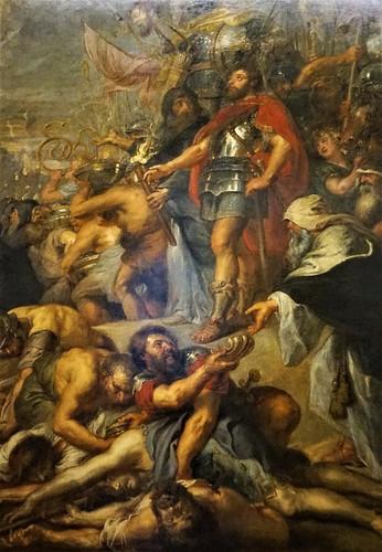 Pierre Paul Rubens, Judas Maccabée priant pour les morts