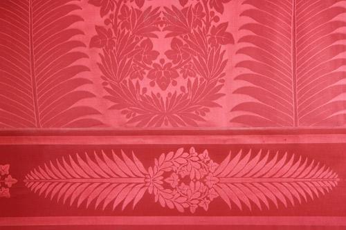 ... Le Papier Peint, Salon Rouge   By UK In France