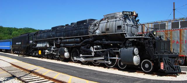 Union Pacific 4-8-8-4 'Big Boy' locomotive