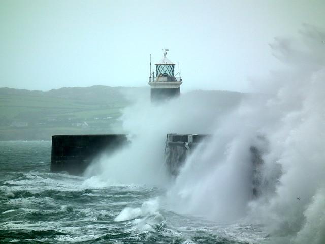 Lighthouse at Holyhead Breakwater