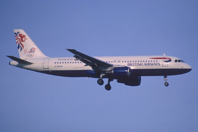 116ad - British Airways Airbus A320-100; G-BUSC@ZRH;25.10.2000