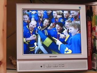 Heja Sverige!! Ishockey guld! 2006-II