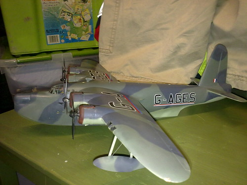 G-AGES Sunderland Construction and Painting Complete, Weathering TODO | by jaypee_