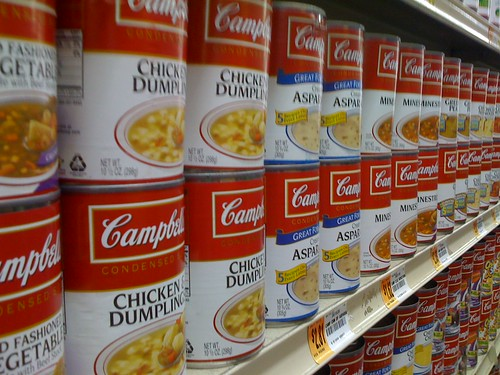 Cambell's soup aisle | by MattHurst