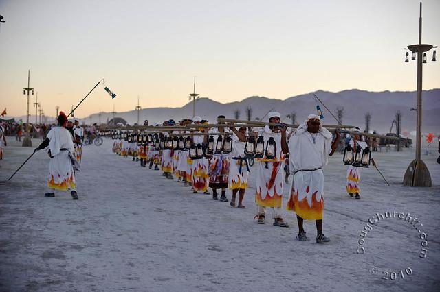 Lamplighters • Burning Man 2010