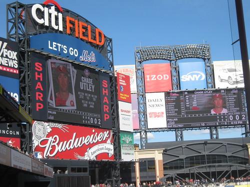 Philadelphia Phillies at New York Mets 11 Sept 2010   by ElCapitanBSC