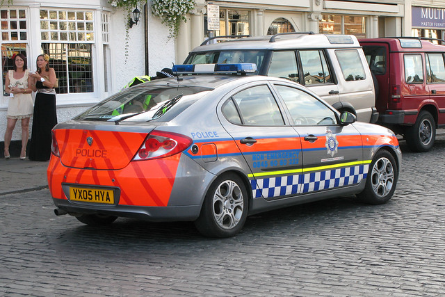 Humberside Police YX05HYA