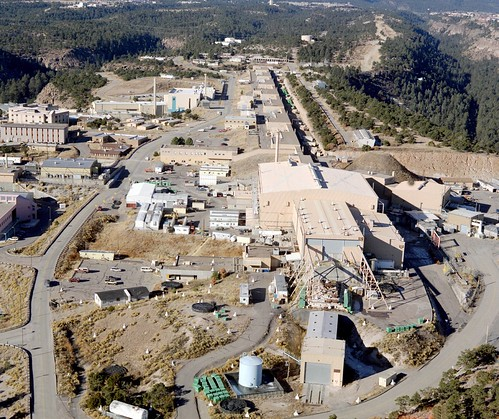 Aerial View of Neutron Science Center