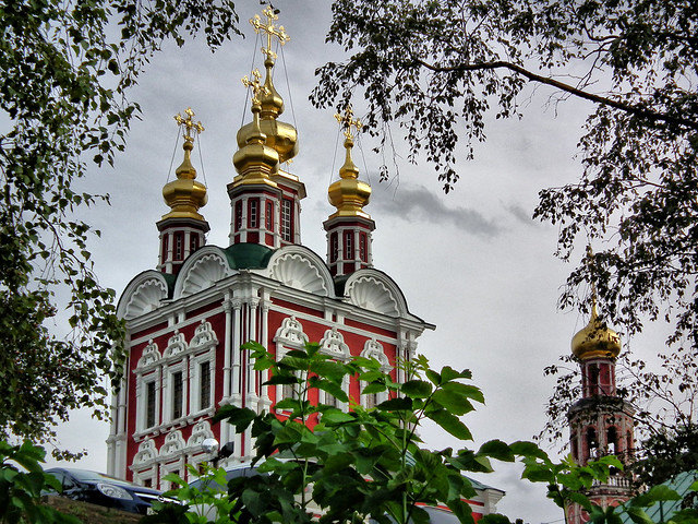 NOVODEVICHY MONASTERY, MOSCOW, RUSSIA