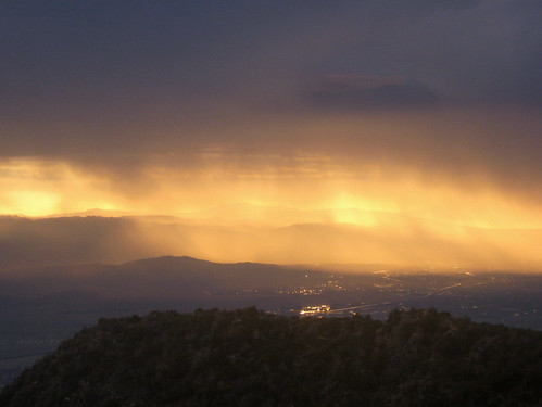 rain weather clouds sunrise showers palmspringsaerialtramway tripuptothemountainstation