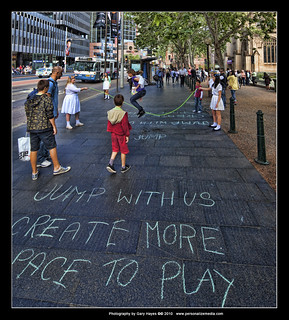 near Townhall - Sydney CBD Portraits with 17mm TS-E 27   by Gary Hayes