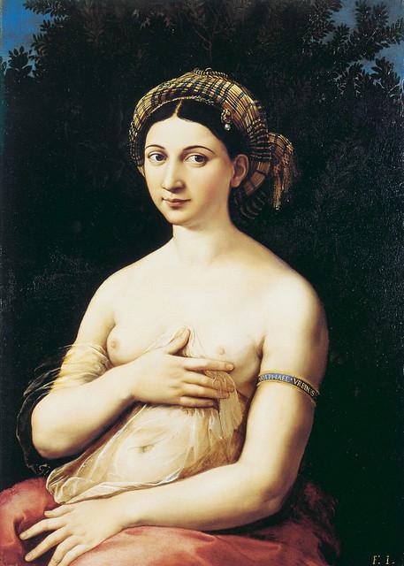 Raphael: La Fornarina (1518-20)