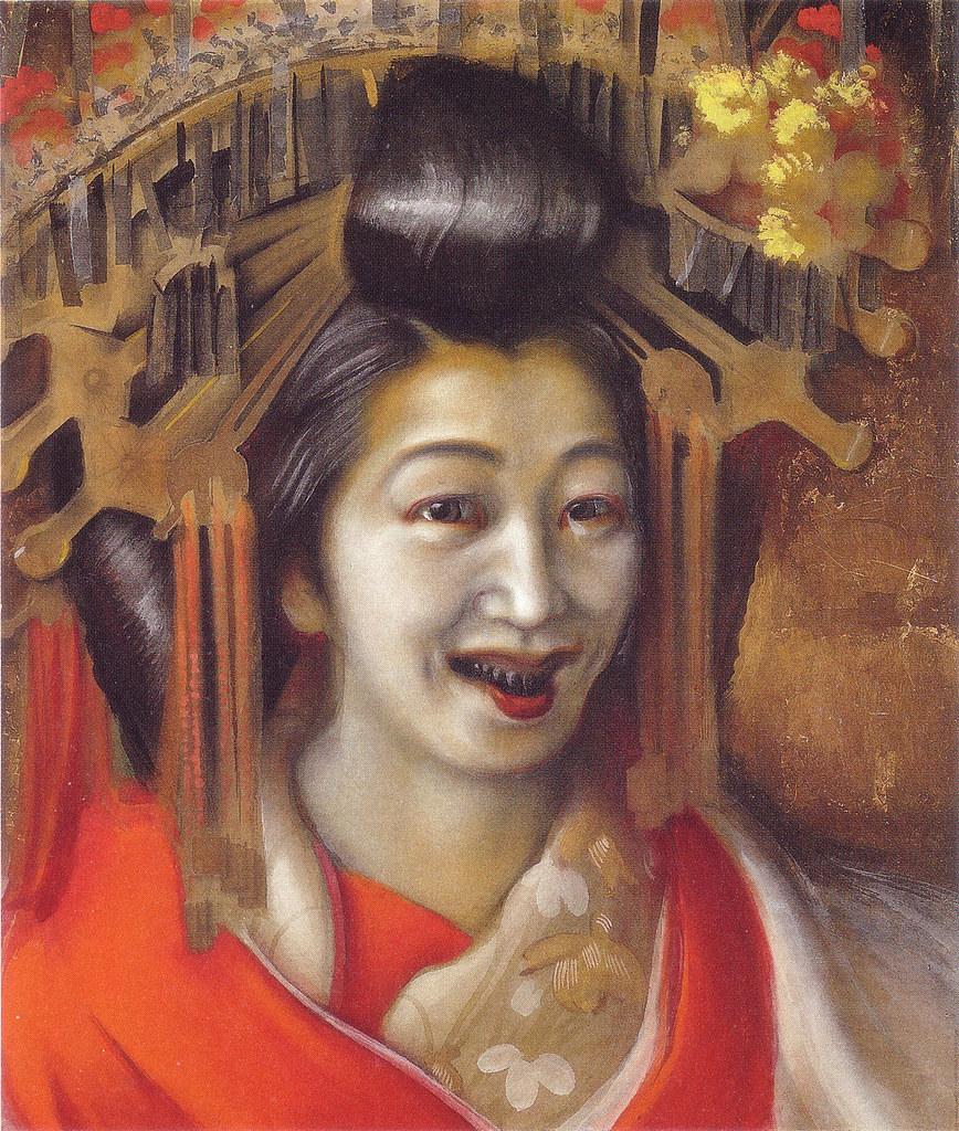 稲垣仲静 「太夫」(1919年頃)