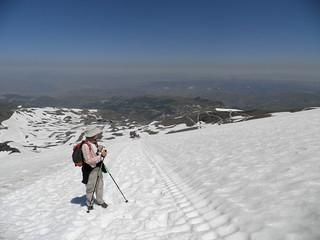 P6260376. Subiendo por la nieve al Veleta | by Por los caminos de Málaga