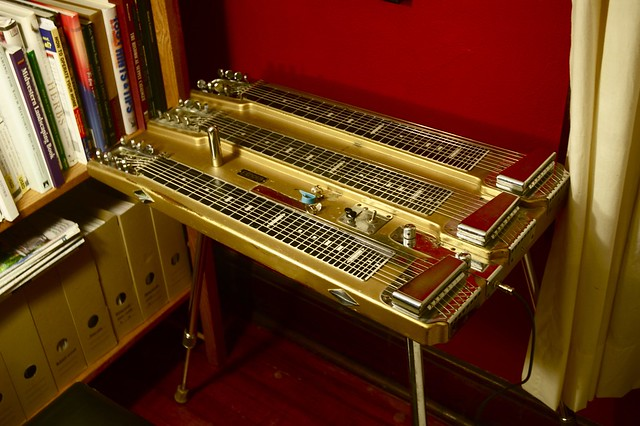 Tater's Fender Custom Triple Neck Non-pedal Steel Guitar