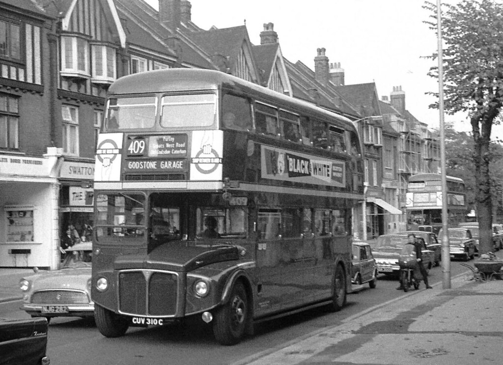 Rml2310 Cuv310c In Brighton Road Purley Taken During Th