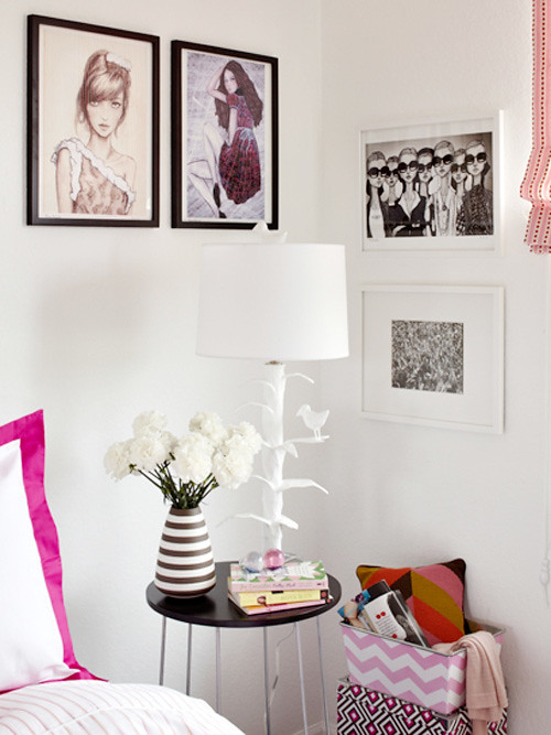 Teen Vogue Bedroom By Tori Mellott | Blogged today on decor8… | Flickr
