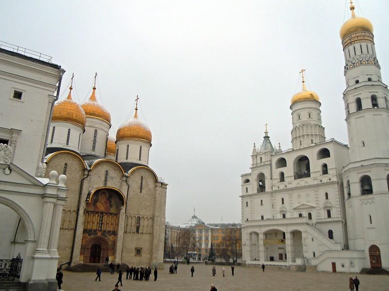 Moskau - im Kreml