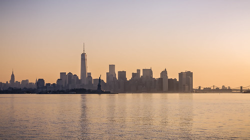 new york city light sky urban panorama usa sunlight newyork color building tower tourism yellow skyline architecture america sunrise vintage outside outdoors high warm downtown day cityscape view bright manhattan district famous horizon scenic landmark scene panoramic structure historic retro business empire tall viewpoint financial americano outstandingromanianphotographers