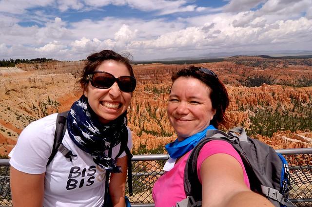 Selfie Hoodoos @ Bryce Canyon