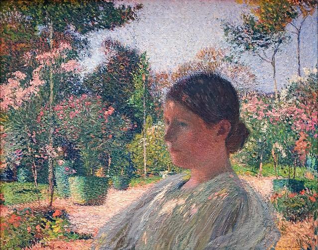 """""""Dans le jardin"""" d'Henri-Jean Martin (musée des beaux-arts de Lille)"""