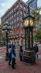 The Gastown Steam Clock (Vancouver BC, Canada)