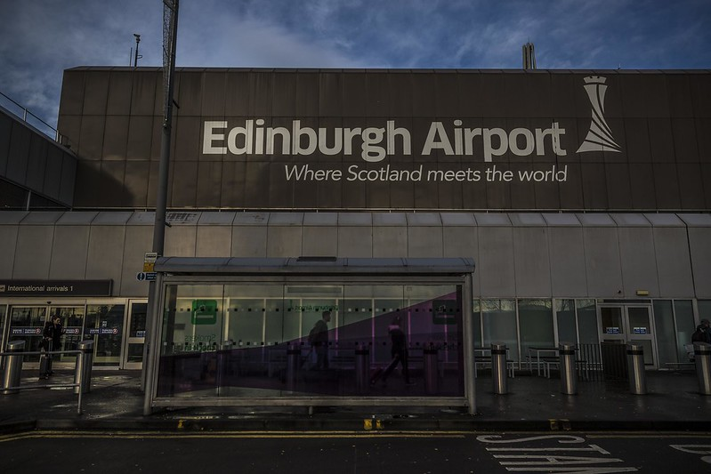 Edinburgh Airport International Arrivals