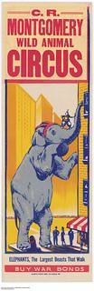 C. R. Montgomery Wild Animal Circus / Cirque d'animaux sauvages de C. R. Montgomery