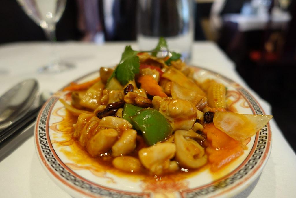 Kung Pao Chicken La Table De Chine Montparnasse Pari Flickr