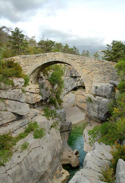 Pont de Sautet - Jabron -Trigance (Var)